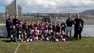 Under 10s who travelled to Gweedore for blitz